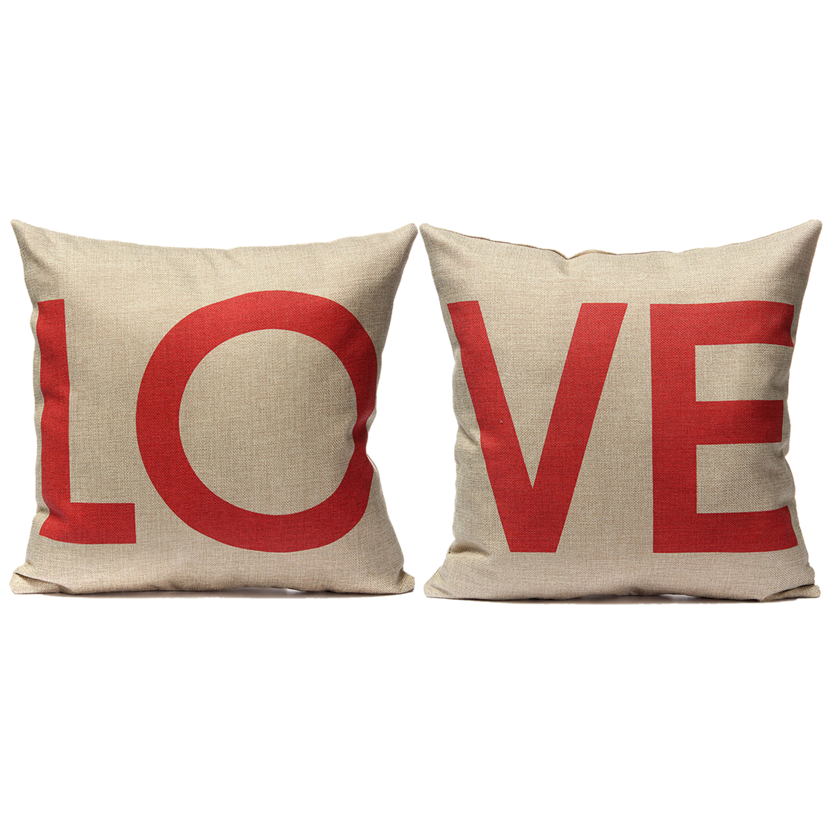 Love housse de coussin taie d 39 oreiller canap lit maison for Housse de coussin de canape