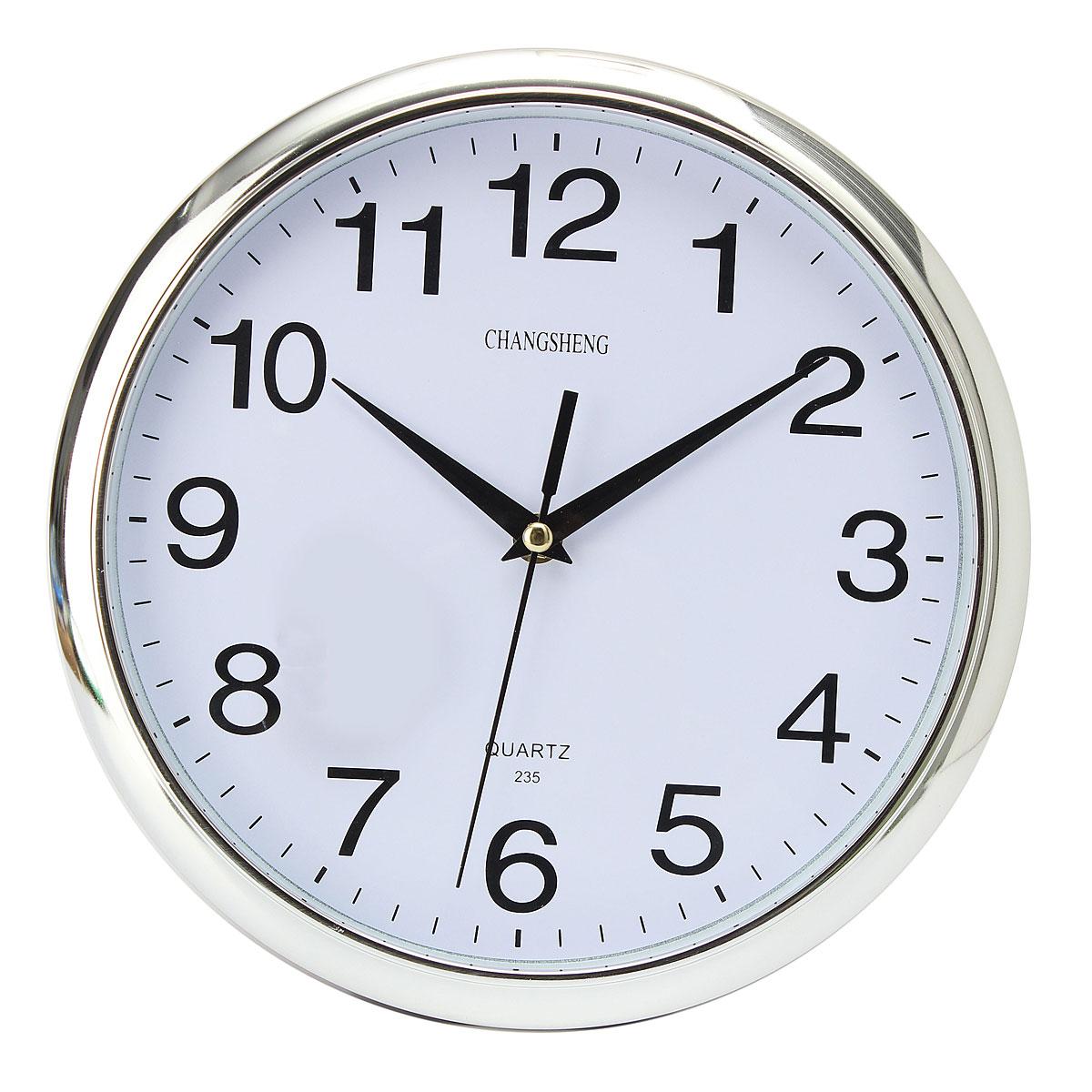 Moderna moda grande ronda reloj de pared cocina retro hogar wall clock quartz ebay - Relojes de cocina modernos ...