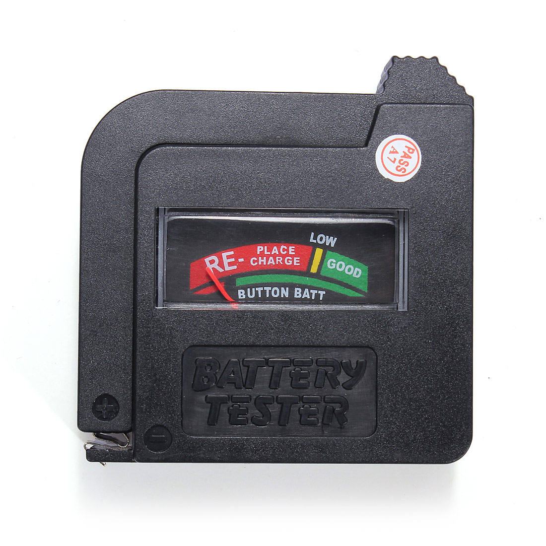 9 Volt Battery Tester : Foldable universal button cell battery volt tester checker