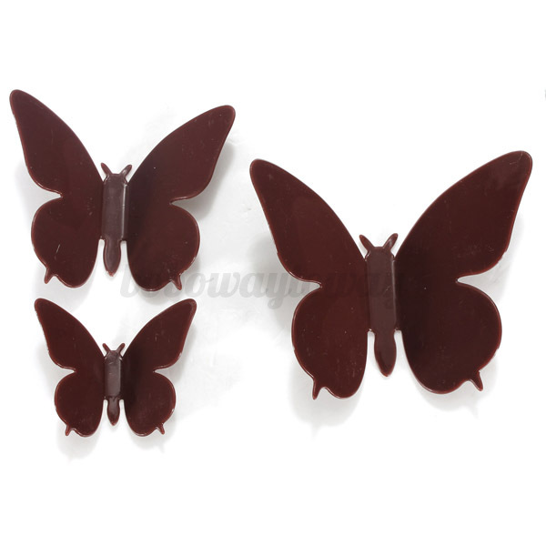 3d wandtattoo wanddeko wandsticker schmetterling butterfly. Black Bedroom Furniture Sets. Home Design Ideas