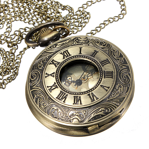 Roman numerals pocket watch