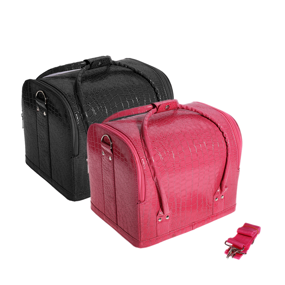 gro travelite kosmetikkoffer schminkkoffer beauty case koffer tasche makeup uk ebay. Black Bedroom Furniture Sets. Home Design Ideas