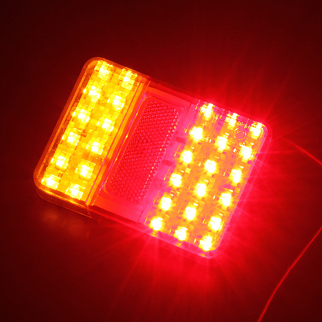 2x 12v 30 led feu arri re lampe tail bande t moin signal e marke camion remorque ebay. Black Bedroom Furniture Sets. Home Design Ideas