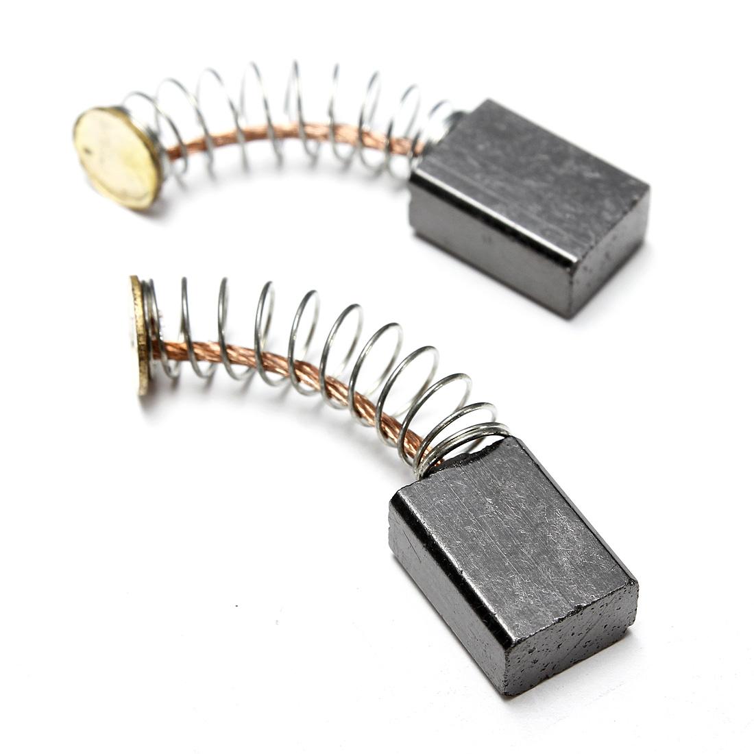 2pcs Electric Motor Carbon Brushes Repair Replacement 12mm