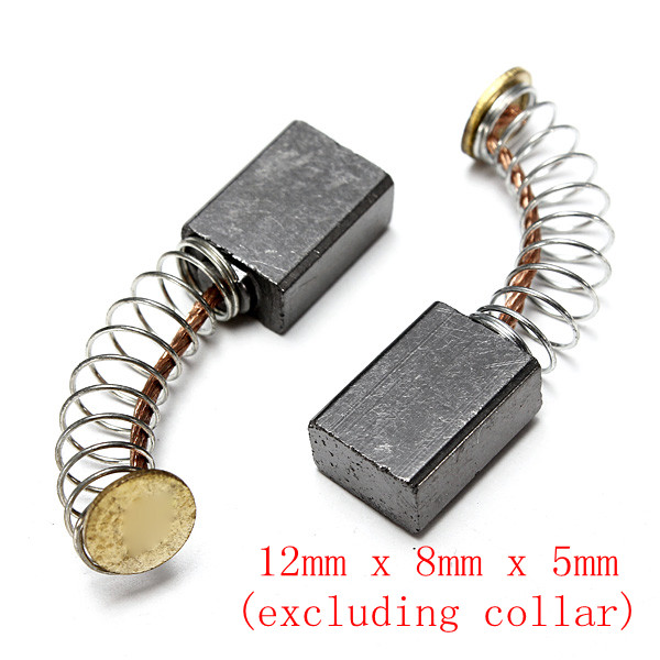 2pcs Carbon Brushes Replacement For Electric Motor