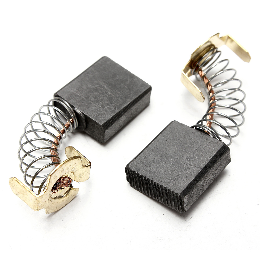 2pcs 17mm X 17mm X 7mm Power Tool Carbon Brushes For
