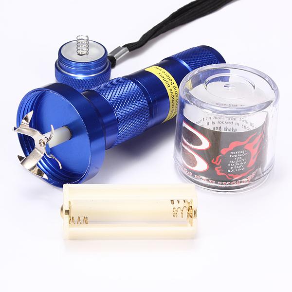 Electric Hand Grinder For Metal ~ Electric aluminum metal grinder herb smoke spice crusher
