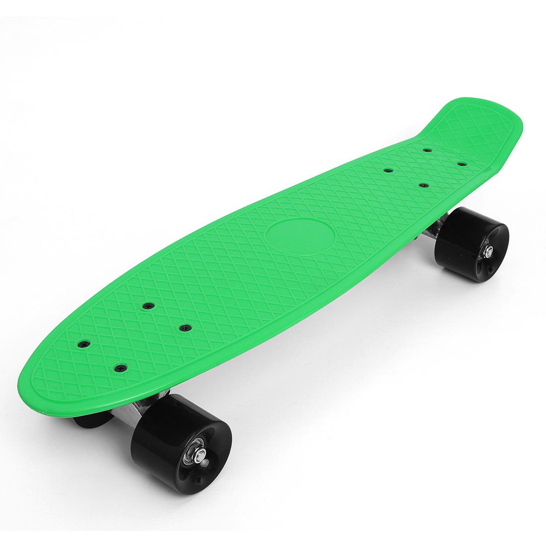 Retro-22-Cruiser-Style-Skateboard-Complete-Deck-Mini