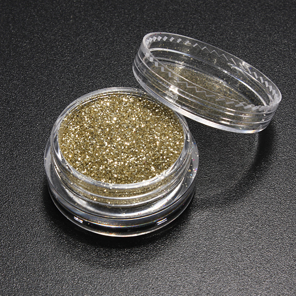Shiny Glitter Color Sparkly Powder Dust DIY Nail Art Design Tips Decorations