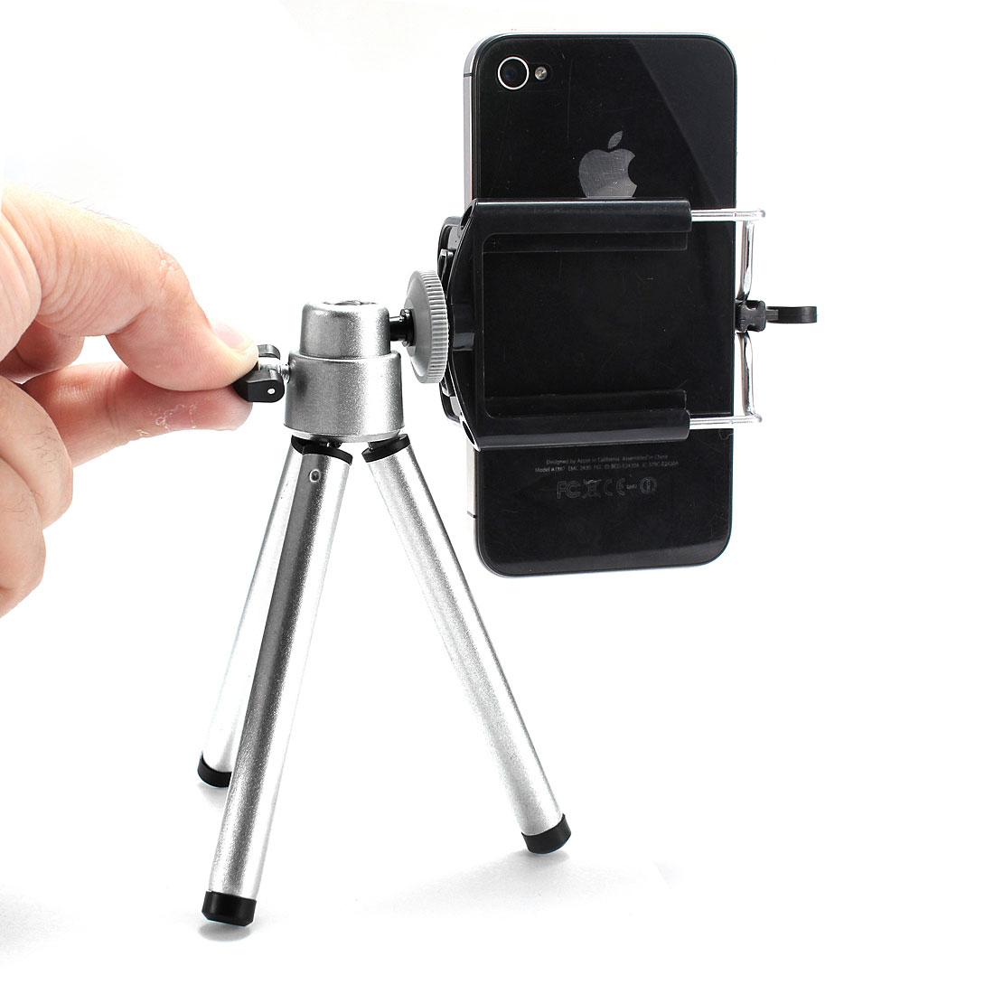 360 ratation tr pied tripod support t l phone appareil for Miroir tripod