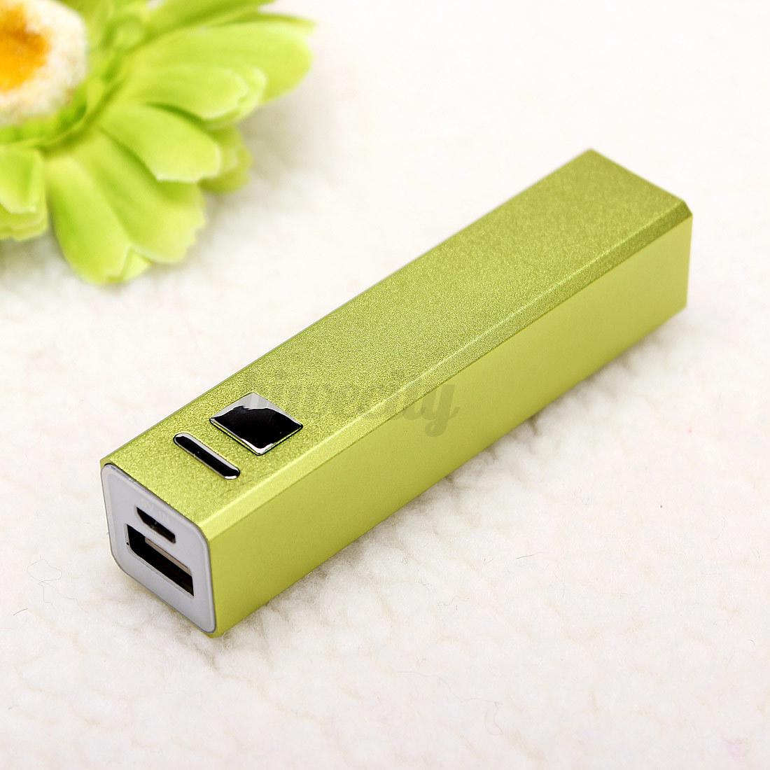 Aluminum USB 2600mAh Power Bank 18650 Battery Charger DIY ...