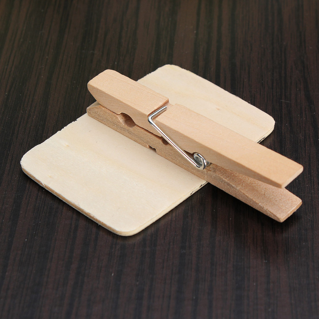5 50 st tafel memotafel memoboard holz mini schreibtafel clip ...