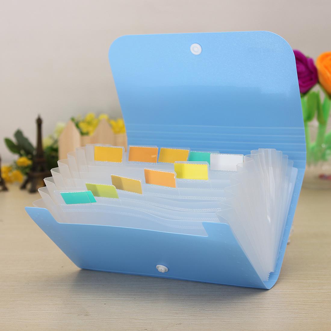 plastic bills receipts file document case bag pouch folder card holder organizer ebay. Black Bedroom Furniture Sets. Home Design Ideas