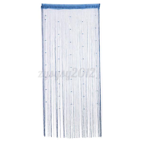 drop beaded string window door curtain divider room blind