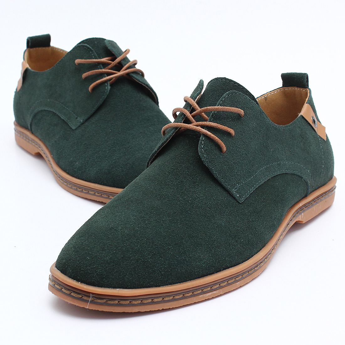 2015 suede european style leather shoes mens oxfords
