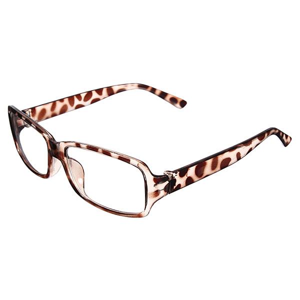 retro lunette de vue monture cadre transparent plastique