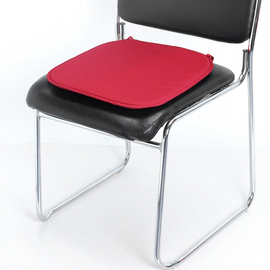 coussins galette dessus de chaise coton siege auto bureau fauteuil nouveau. Black Bedroom Furniture Sets. Home Design Ideas