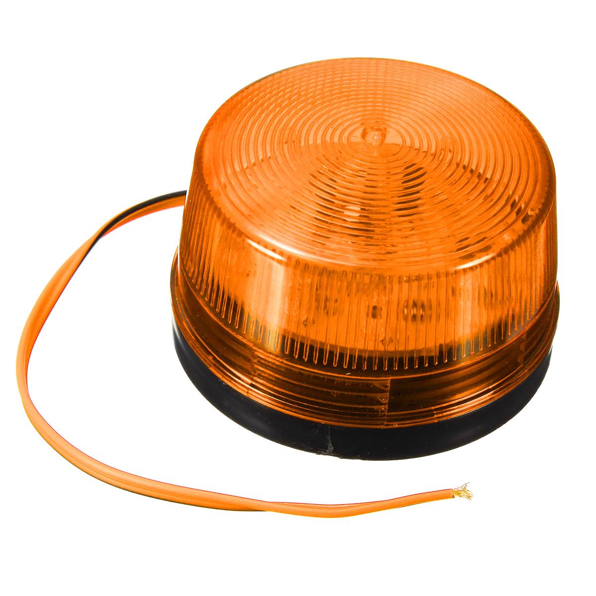 Indicating Alarm Strobe Signal Warn Warning Siren LED Flashing Light Lamp DC12V