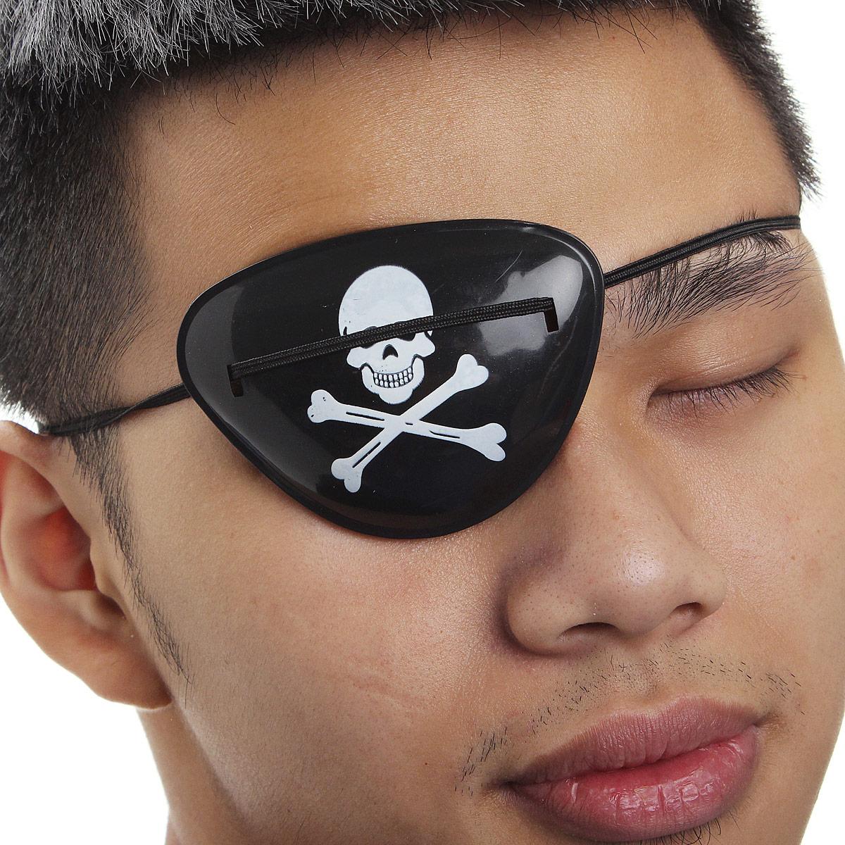 Как сделать глаз пирата