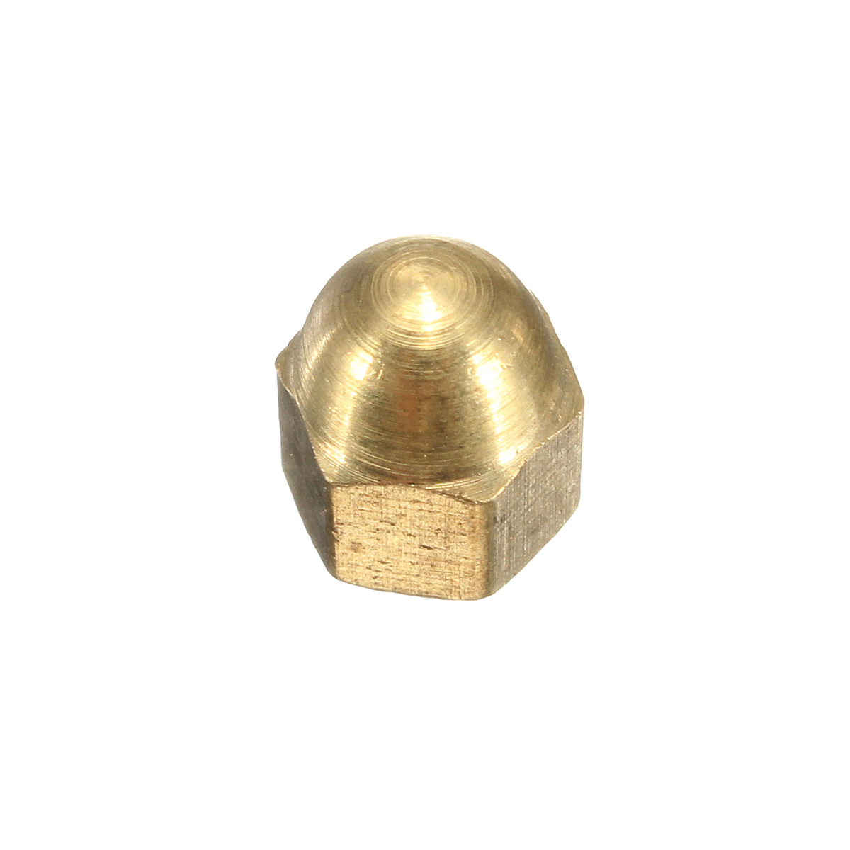 Solid Gold Brass Dome Head Cap Nuts Bolts Screws Din 1587 M4 M5 M8 M10