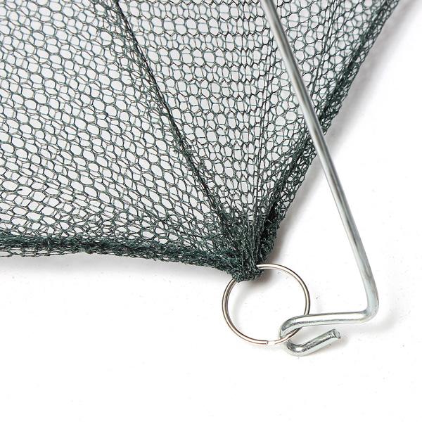 100x40cm fish shrimp minnow folded fishing trap crab cast for Fish trap net
