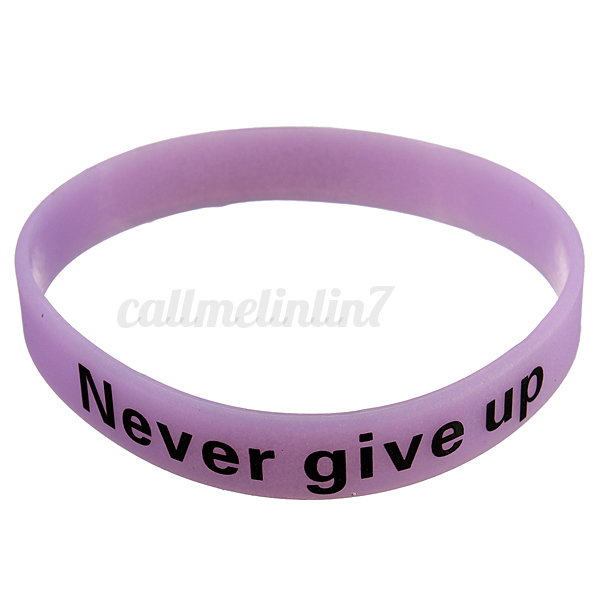silicone bracelet lumineux fluorescent fluo phosphorescent collier wristband ebay. Black Bedroom Furniture Sets. Home Design Ideas