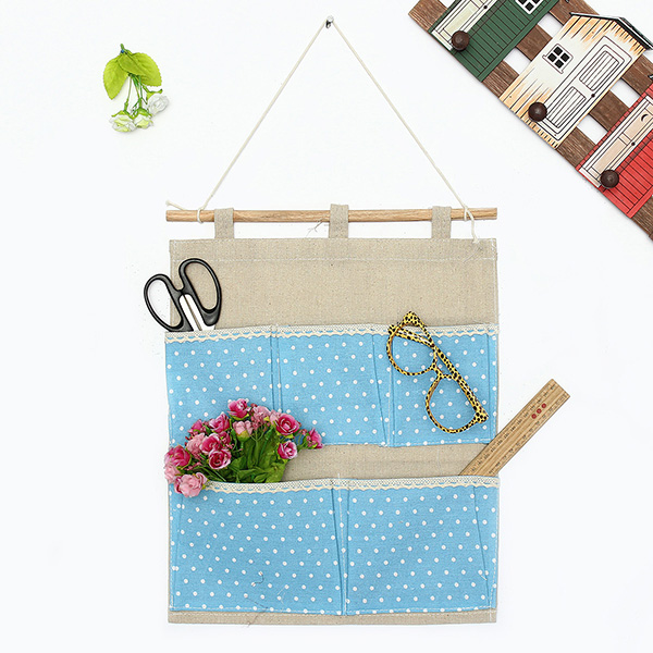 hanging bag storage organizer bag for bedroom door wall closet bedside