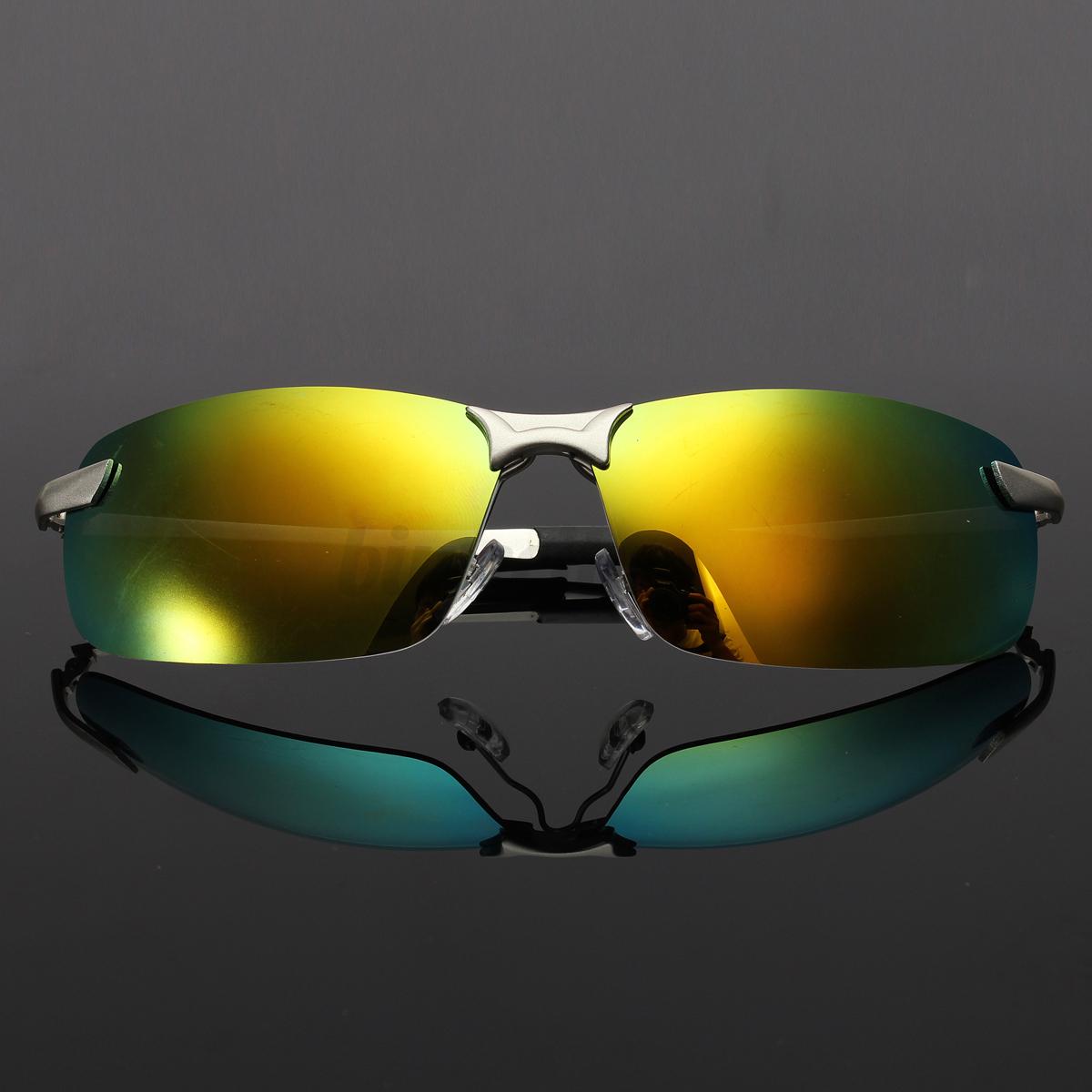 Anti-Glare Men Fashion Polarized Driving Sunglasses Outdoor Sports Glasses