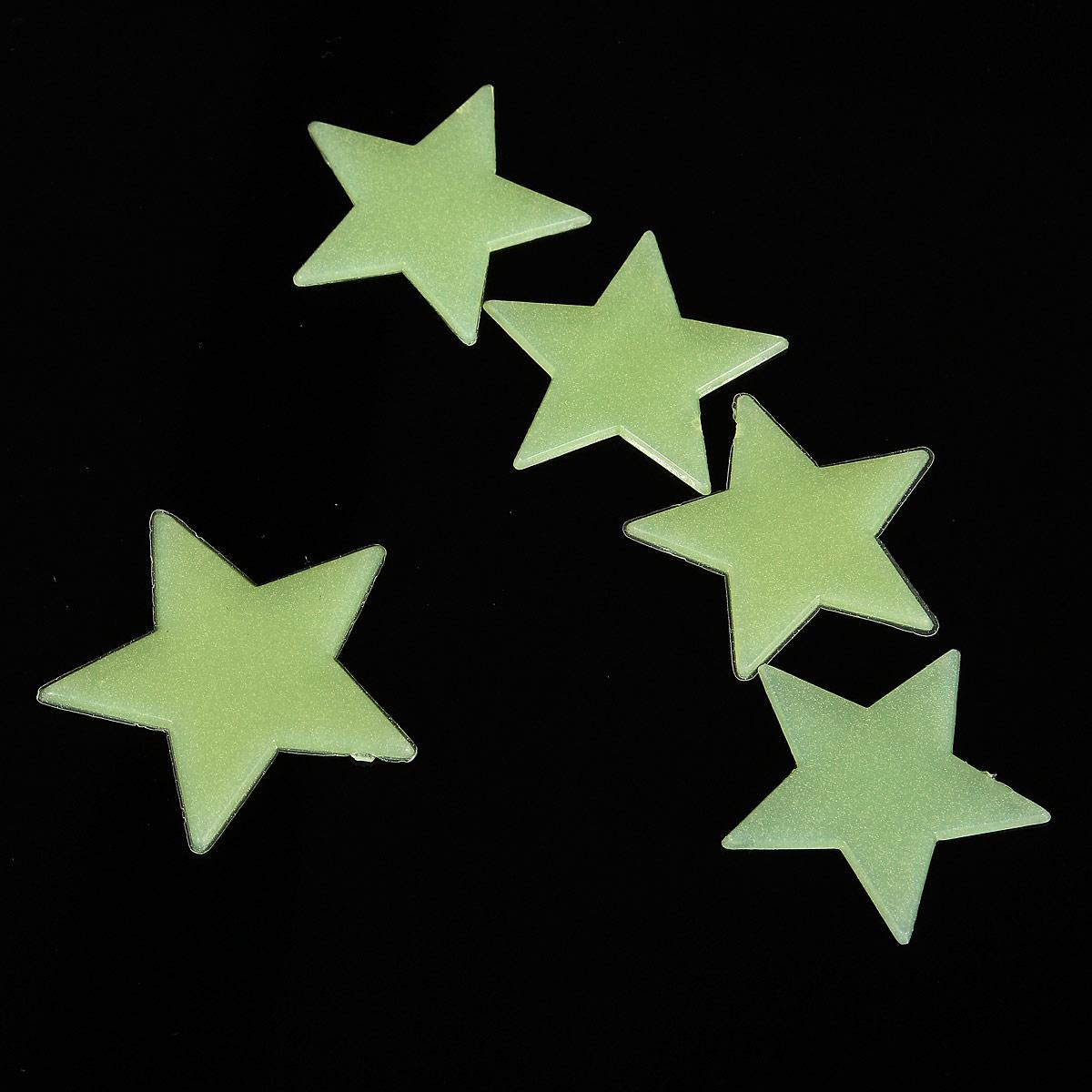 100 wandtattoo leuchtende leuchtsterne sterne - Leuchtende wandtattoos ...