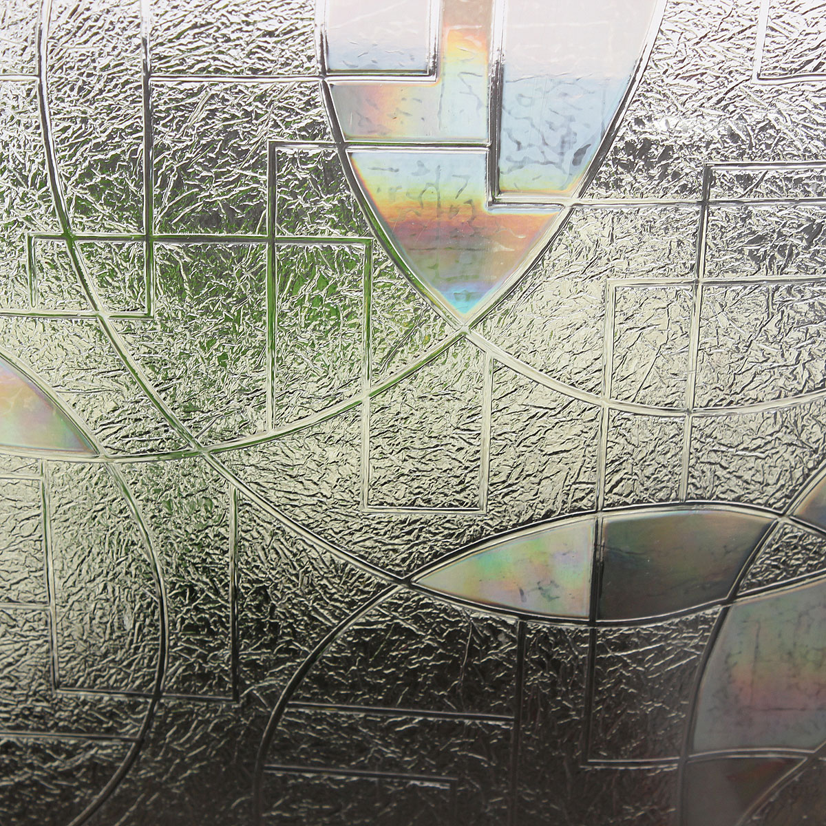 90 50cm 3d Static Cling Stained Glass Film Paper Frosted