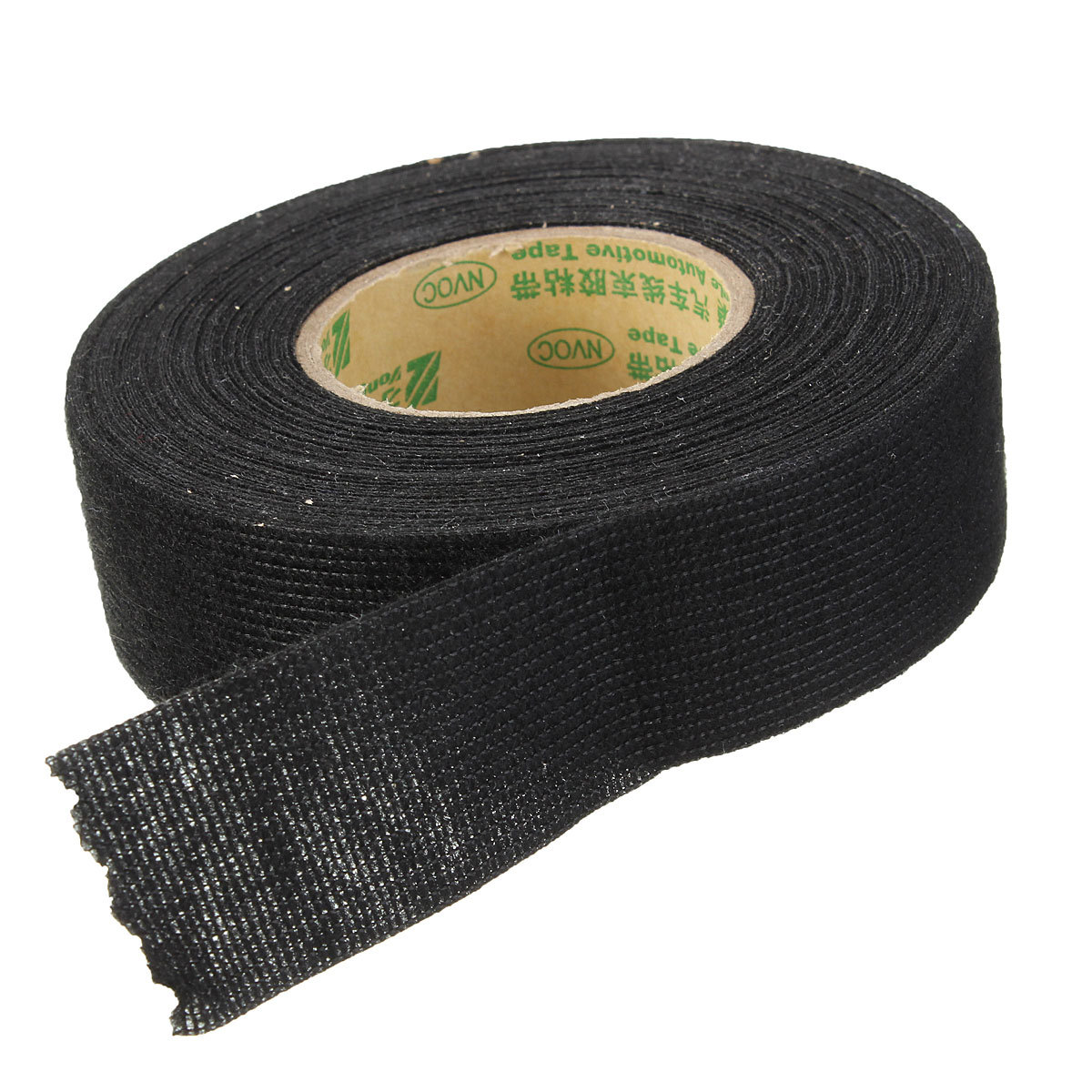 Black adhesive cloth flannel wiring looms harness mmx m