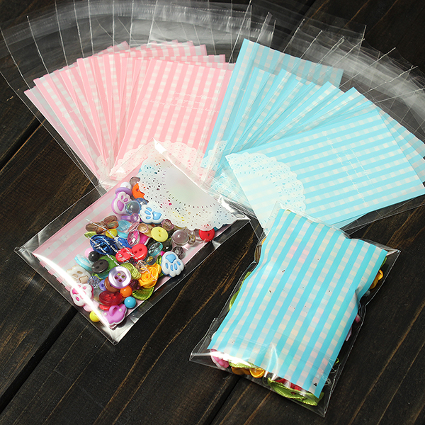 10 50x sac sachet poche cellophane transparent bonbon biscuit cadeau chocolat uk ebay. Black Bedroom Furniture Sets. Home Design Ideas