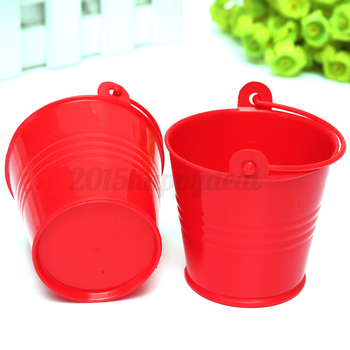 10pcs mini buckets candy favours pails buckets wedding for Small pail buckets