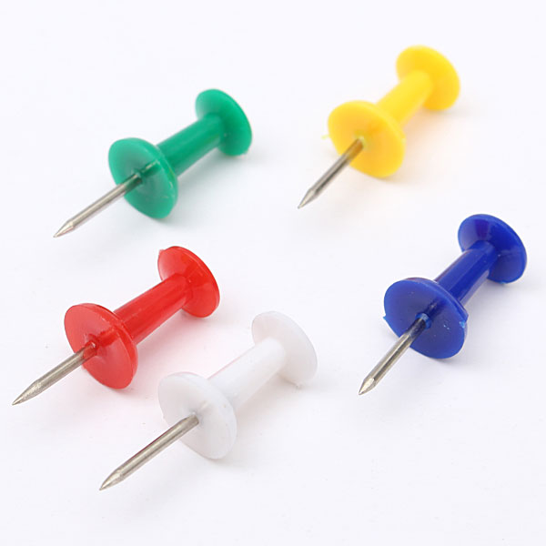 coloured push pins office notice mesage board drawing pin decorative