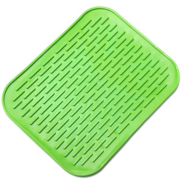 Cuisine Plat Silicone Pot Pan Verre Coupe Lisseur Mat Anti