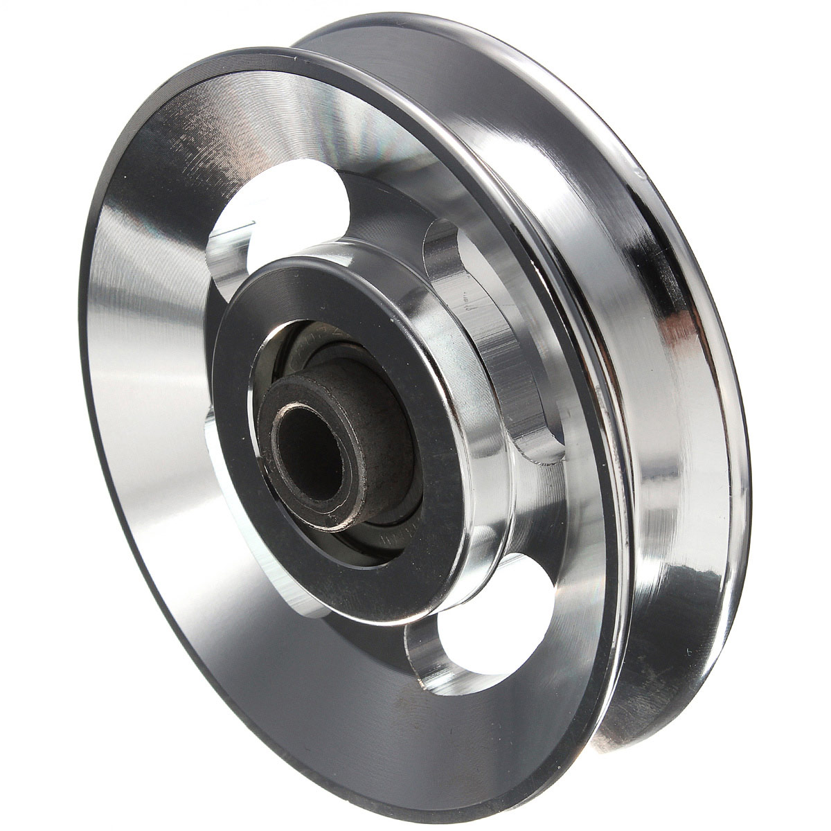 Fitness Equipment Parts: Universal 88mm Aluminum Bearing Pulley Wheel Cable Gym