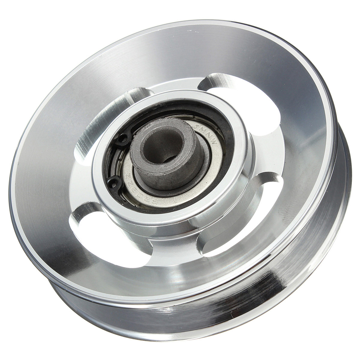 Universal 88mm Aluminum Bearing Pulley Wheel Cable Gym ...