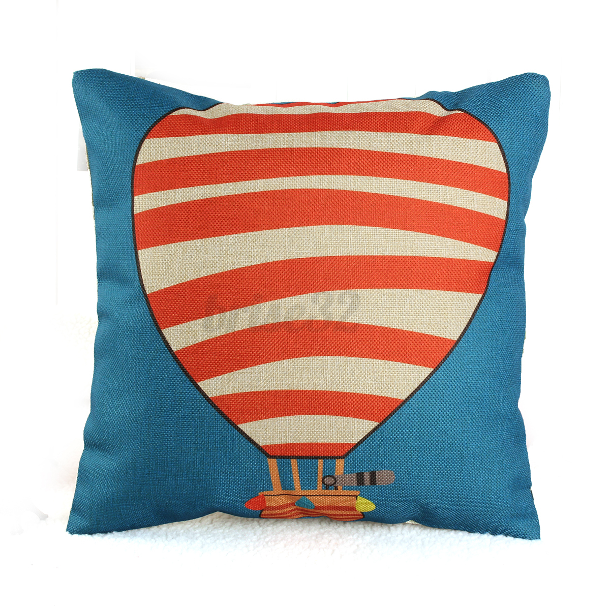 Square Simple Retro Cotton Linen Throw Cushion Covers Pillow Case Home Decor eBay