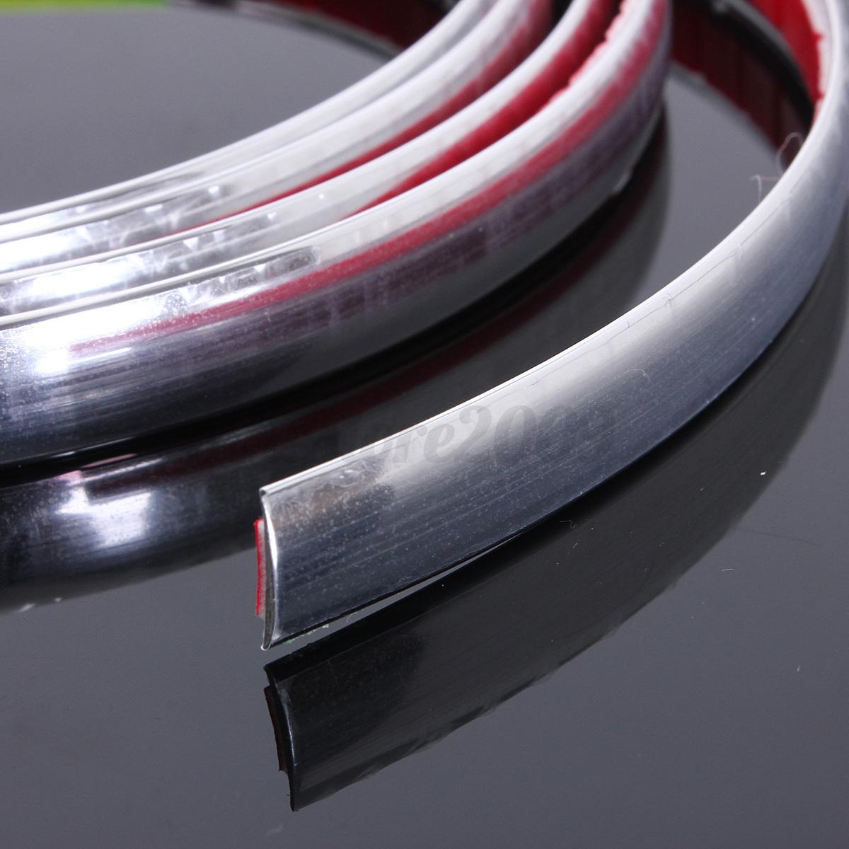 12mm 2m carstyling moulding strip trim self adhesive crashguard protector strip ebay. Black Bedroom Furniture Sets. Home Design Ideas