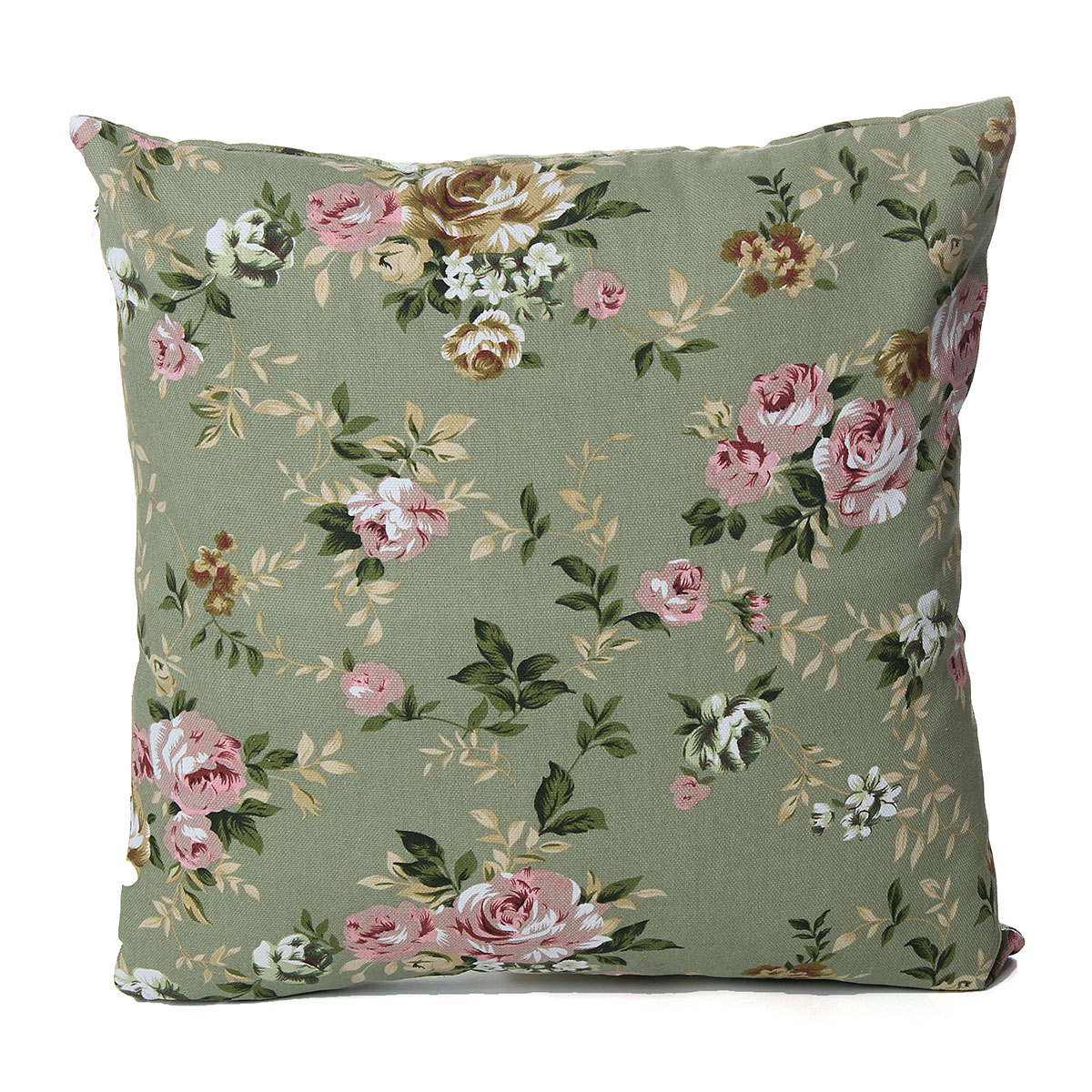 leinwand blumen rosen dekokissen kissenbezug kissenh lle kopfkissenbezug sofa uk ebay. Black Bedroom Furniture Sets. Home Design Ideas