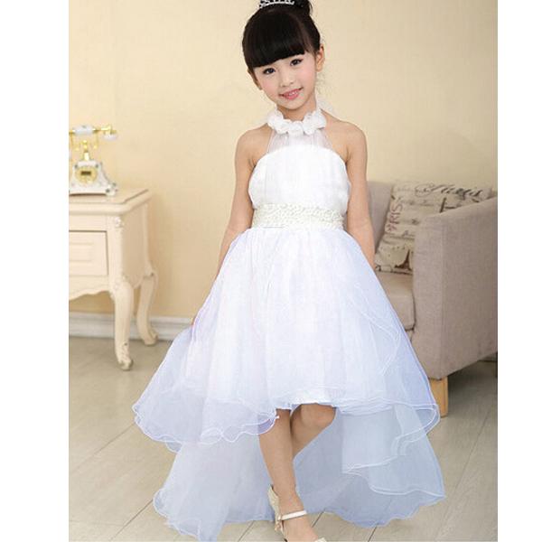 Kid Girls Flower Birthday Bridesmaid Party Prom/Wedding Christening Dress 3-9Y