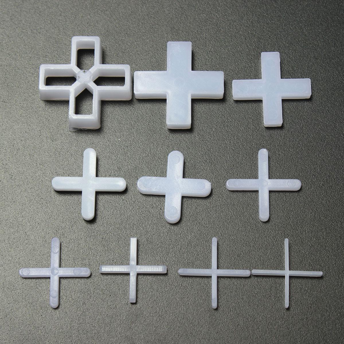 100 Wall Floor Tile Spacers Cross 1mm 5mm 10mm Tiling