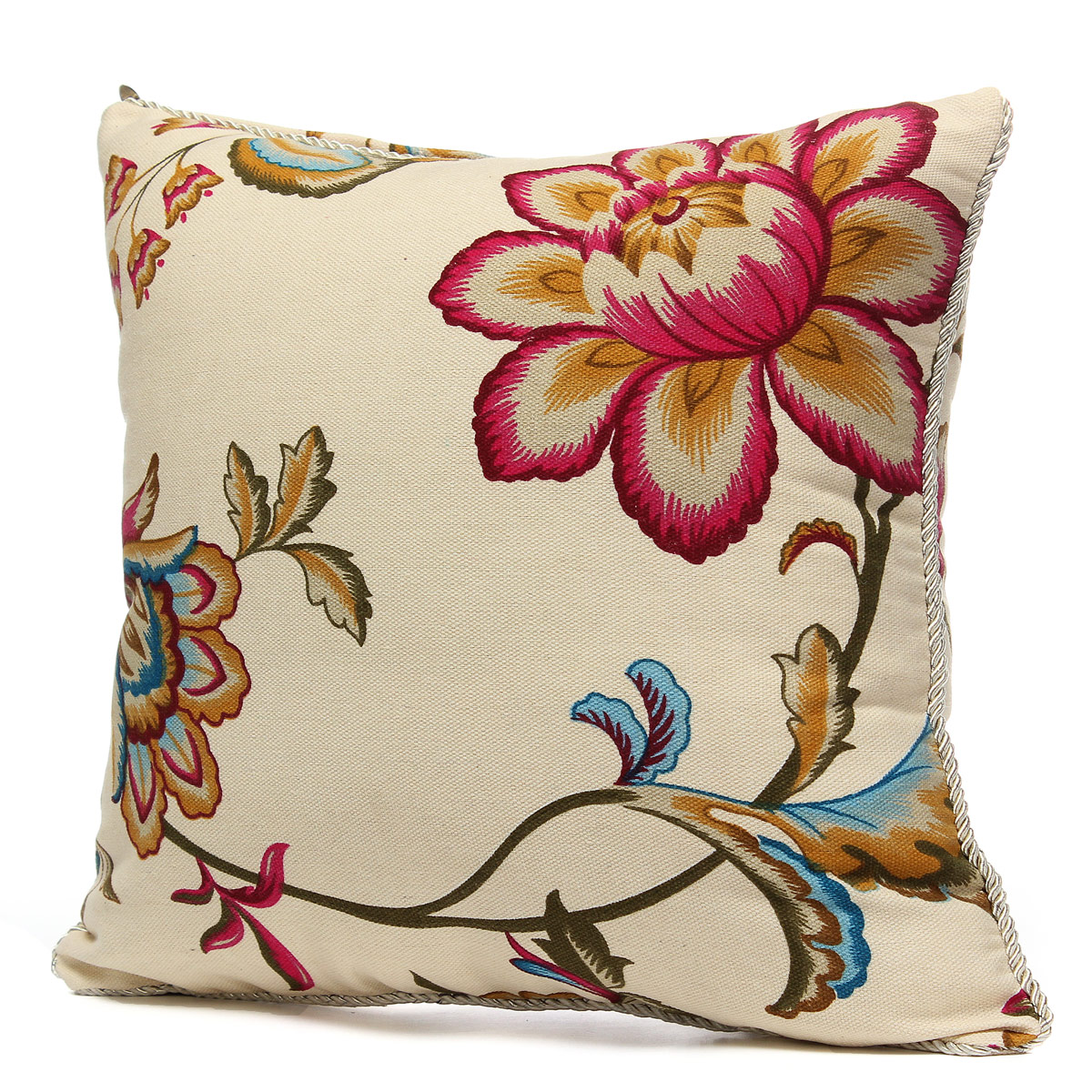 Vintage Fashion Square Throw Pillow Cases Home Sofa
