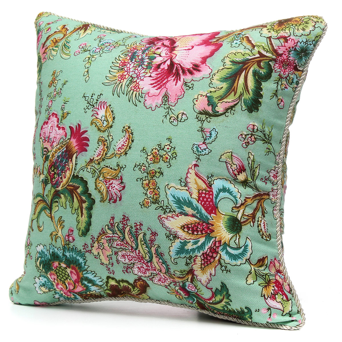Square Throw Pillow Cases : Vintage Fashion Square Throw Pillow Cases Home Sofa Decorative Cushion Cover