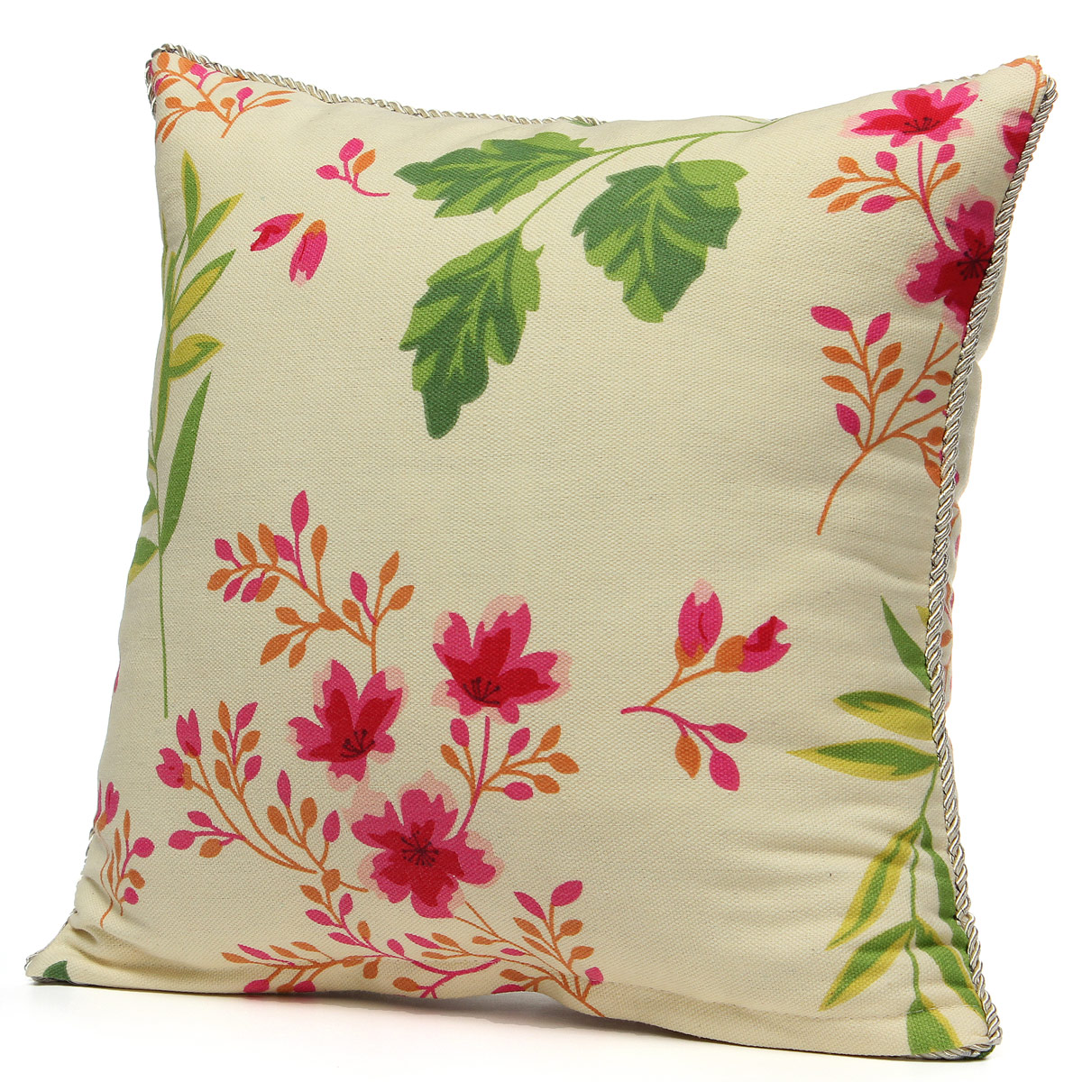 Vintage Decorative Throw Pillows : Vintage Fashion Square Throw Pillow Cases Home Sofa Decorative Cushion Cover