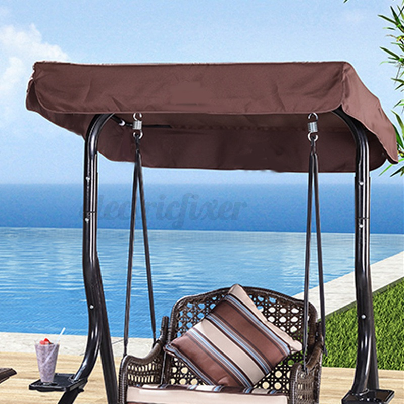 Replacement Canopy Swing Chair Bench 2 /& 3 Seater Outdoor Garden Hammock Cover