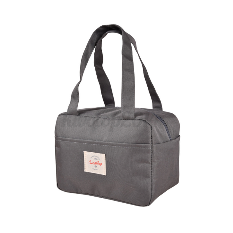 Insulated Lunch Bag Thermal Cooler Picnic Box for Work School Men Women Kids  K