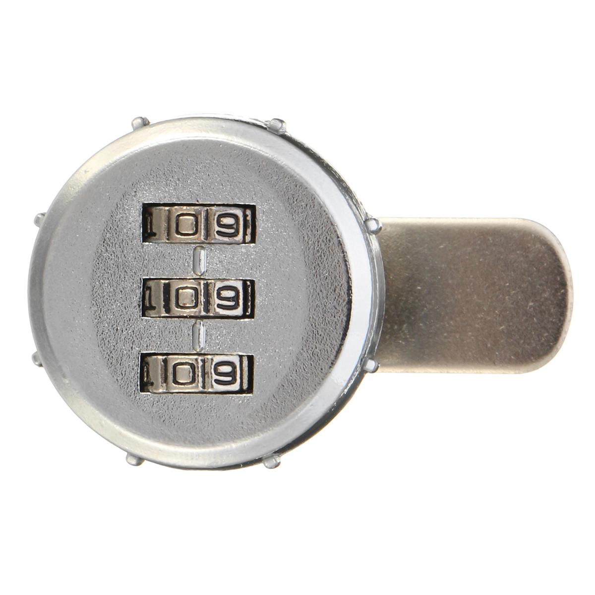 20//25//30mm Digital Briefkastenschloß Schrankschloß Zahlenschloss Möbelschloß (