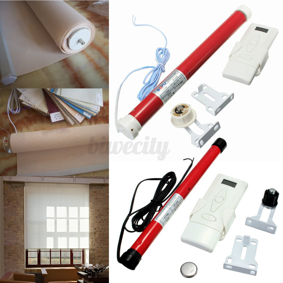 diy 12v roller shade motor electric roller blind tubular