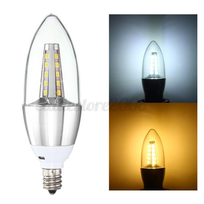 b15 e14 b22 e27 e12 10w 14w 2835 smd led candle flame light bulb lamp 85 265v ebay. Black Bedroom Furniture Sets. Home Design Ideas